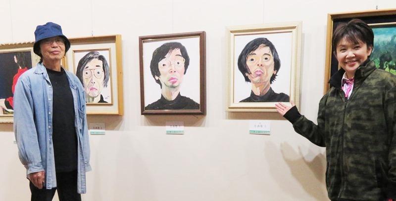 20190621北網圏北見文化センターいのこはるき展.JPG